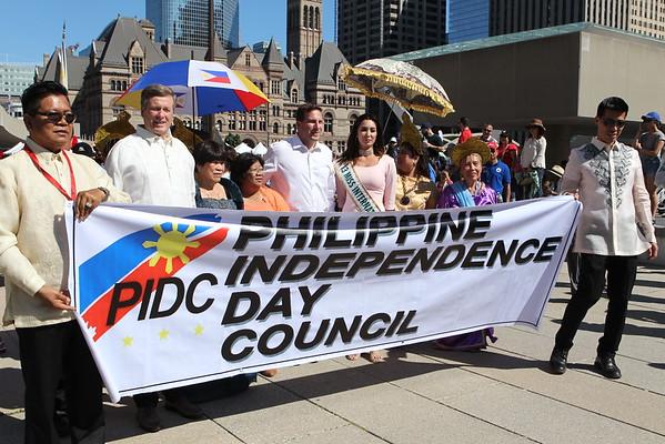 Mabuhay PIDC Parade at Nathan Phillips Square 2016