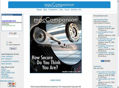 The Mac ReviewCast Episode #8