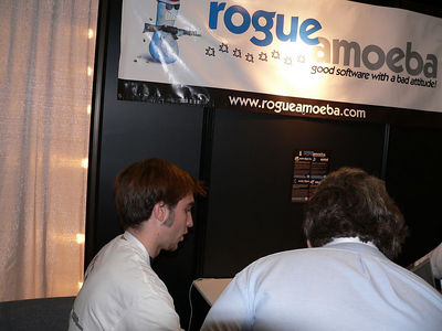 Paul Kafasis from Rogue Amoeba Software. A great example of a Mac Developer.