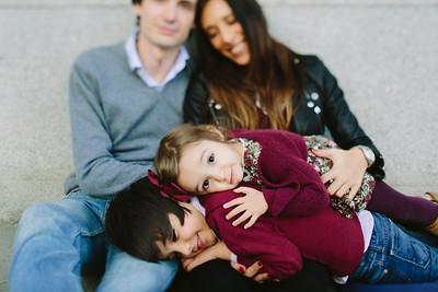 Maca, Pachi y familia