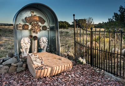 Magnificent Gravesite in New Mexico