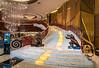 Interior decor of the Grand Lisboa Hotel and Casino in Macau, Asia.