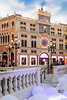 Shops stores and canals inside the Venetian Hotel and Casino, Macau, Asia.