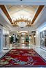 The Wynn Hotel and Casino interior decor in Macau, Asia.