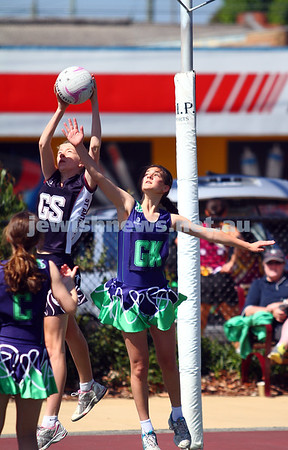 Maccabi AJAX U15 Netball Grand Final 29-11-14