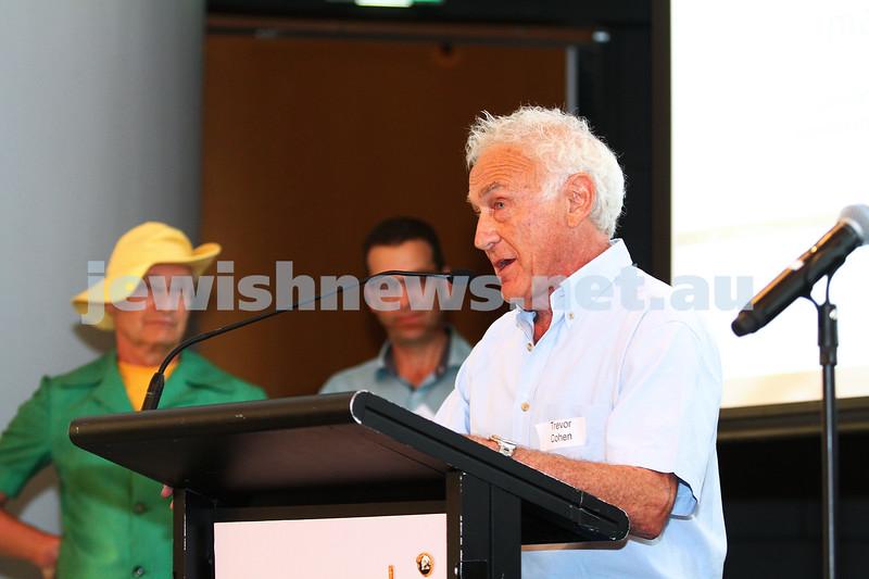11-10-15. Maccabi Australia 90th re-union at the St Kilda Town Hall. Photo: Peter Haskin