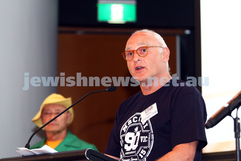 11-10-15. Maccabi Australia 90th re-union at the St Kilda Town Hall. Photo: Peter Haskin