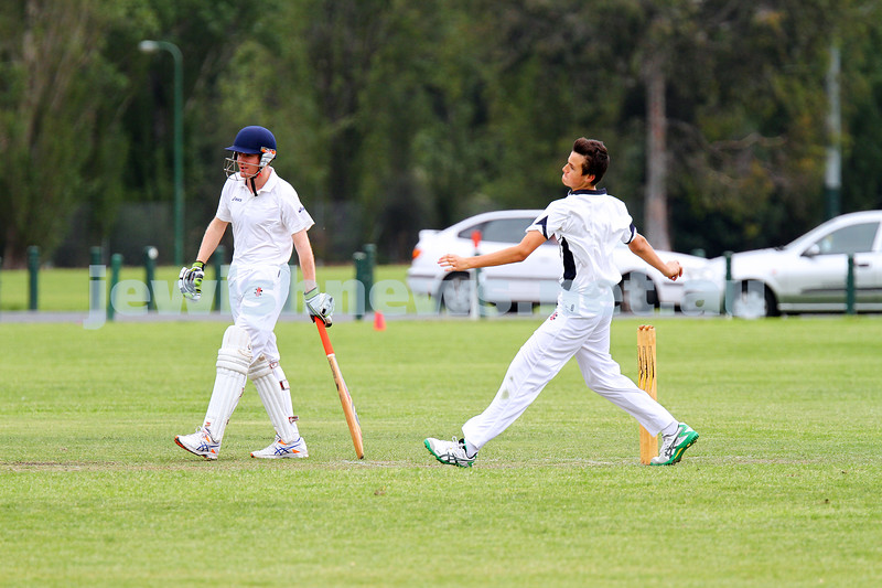 1-11-15. Maccabi cricket 2nds def  Mannix Old Collegians at David Mandie Oval. Photo: Peter Haskin