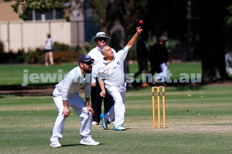 24-3-19. Maccabi's Third XI cricket team defeated Carnegie to win the 2018/19 premiership. Photo: Peter Haskin