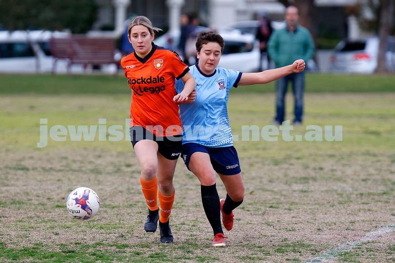 11-7-21. NCMFC Women v Ringwood City at Caulfieldf Park. Photo: Peter Haskin