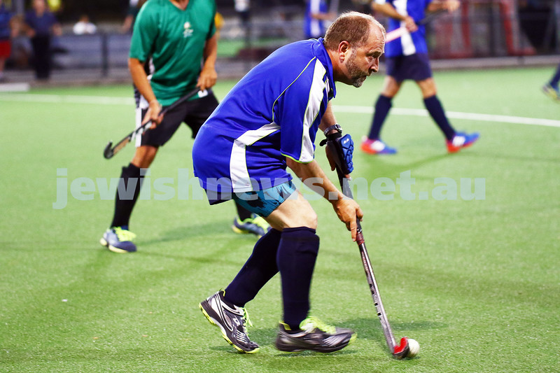 29-2-16. Maccabi Hockey veterans defeated Power House 3-2 in the 2015/16 Summer season grand final. Peter Rubinstein. Photo: Peter Haskin