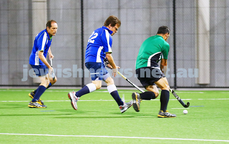 29-2-16. Maccabi Hockey veterans defeated Power House 3-2 in the 2015/16 Summer season grand final. Mark Lew. Photo: Peter Haskin
