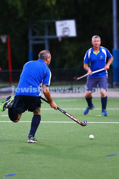 29-2-16. Maccabi Hockey veterans defeated Power House 3-2 in the 2015/16 Summer season grand final. Harley Cohen. Photo: Peter Haskin