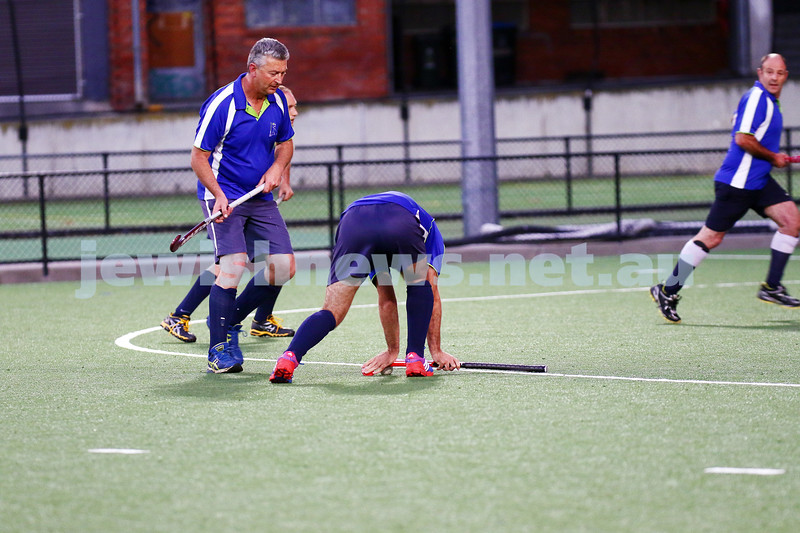 29-2-16. Maccabi Hockey veterans defeated Power House 3-2 in the 2015/16 Summer season grand final. Photo: Peter Haskin