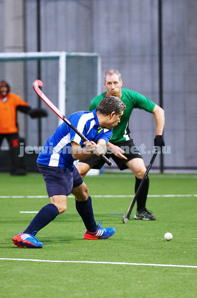 29-2-16. Maccabi Hockey veterans defeated Power House 3-2 in the 2015/16 Summer season grand final. Damien Suss. Photo: Peter Haskin