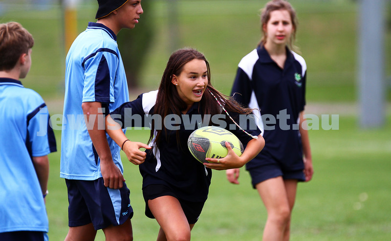 15-1-15. Melbourne Junior Carnival. Touch rugby. photo: peter haskin
