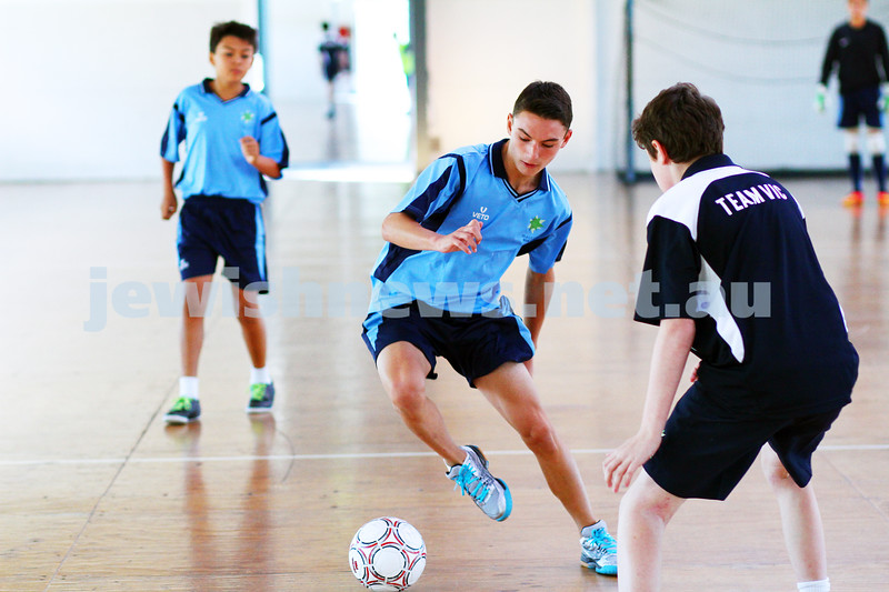 16-1-15. Melbourne Junior Carnival. Futsal. photo: peter haskin