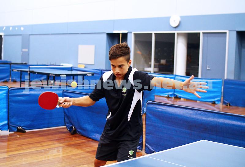 15-1-15. Melbourne Junior Carnival. Tabble tennis. phoo: peter haskin