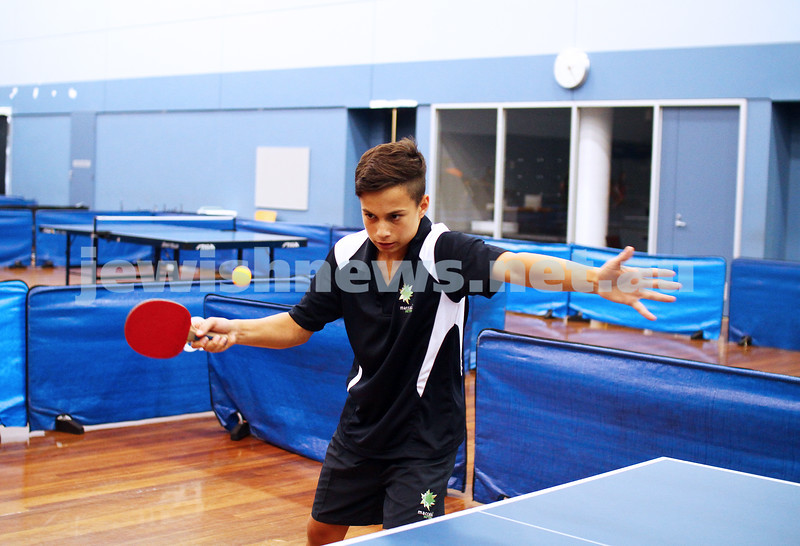 15-1-15. Melbourne Junior Carnival. Tabble tennis. phoo: peter haskin