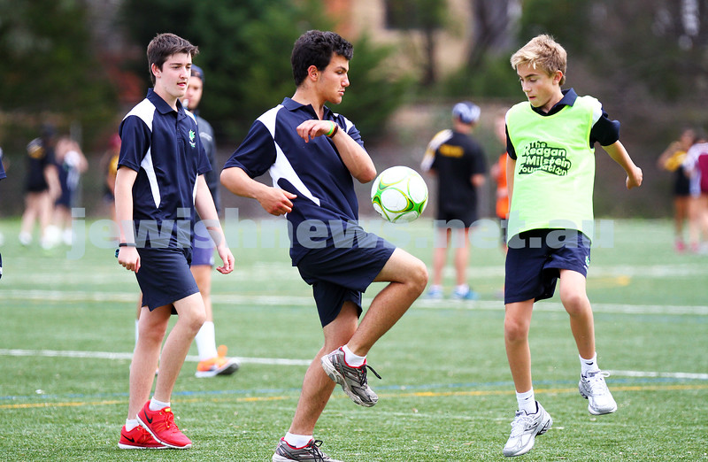 15-1-15. Melbourne Junior Carnival. Boys soccer. photo: peter haskin