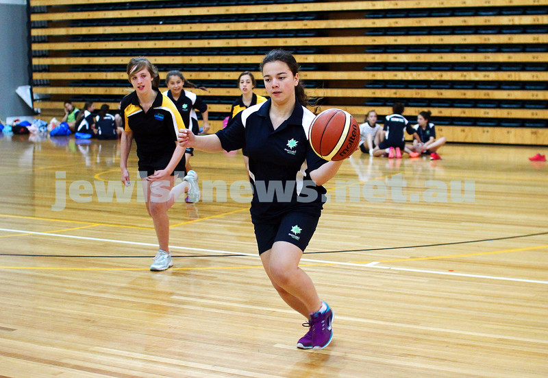 16-1-15. Melbourne Junior Carnival. girls basketball. photo: peter haskin