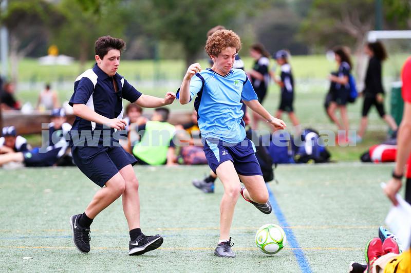 15-1-15. Melbourne Junior Carnival. Boys soccer. photo: peter haskin