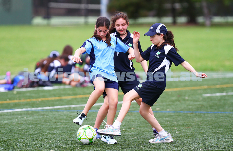 15-1-15. Melbourne Junior Carnival. Girls soccer. photo: peter haskin