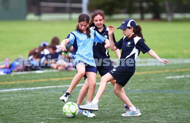 15-1-15. Melbourne Junior Carnival. Girls soccer. photo: peter haskin