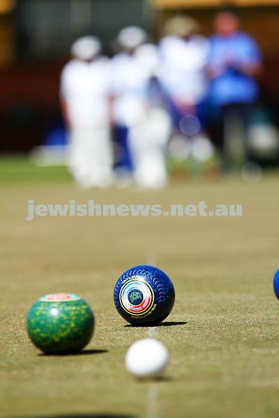 12-10-14. Launch of the Maccabi Ajax Lawn Bowls Club. Caulfield Park Bowls. Photo: Peter Haskin.