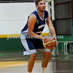 Basketball - Maccabi Kings vs Throwback Cheetahs. Kings lost 62 -32. Desi Kohn about to take a free shot.