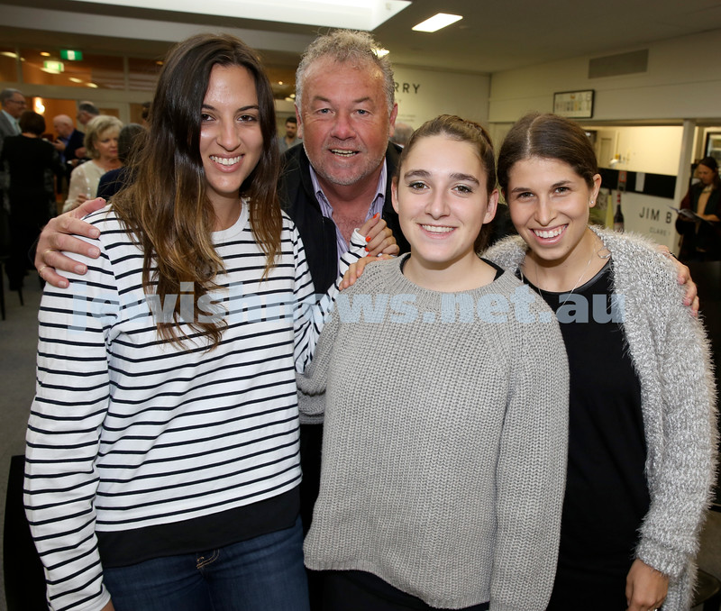 2015 Maccabi NSW Annual Jewish Sports Awards. Megan Oshry, Tony Dunn, Claudia Lowy, Carly Vinokur.