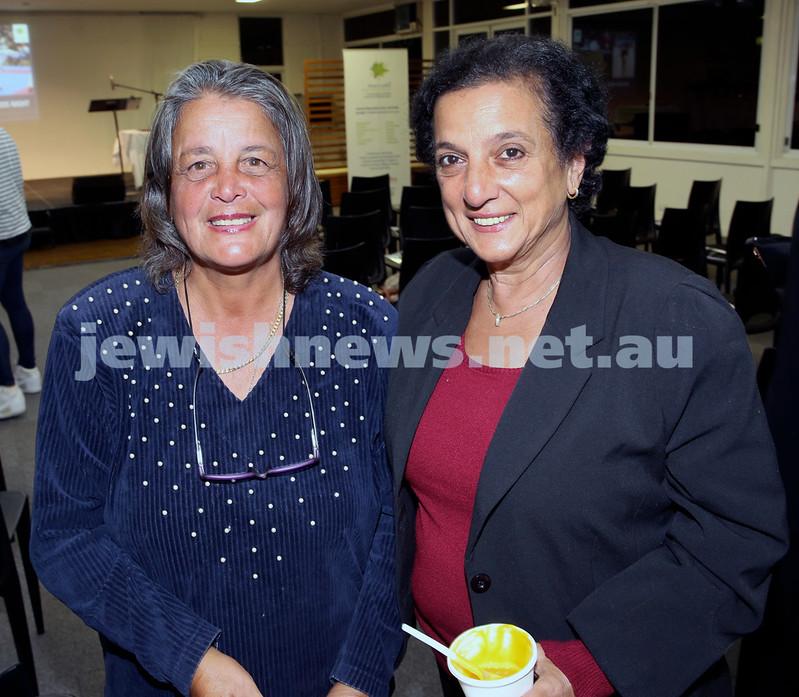 2015 Maccabi NSW Annual Jewish Sports Awards. Dafna Orbach & Sylvia Walters.