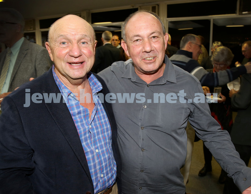 2015 Maccabi NSW Annual Jewish Sports Awards. Tom York & Michael Vasin.