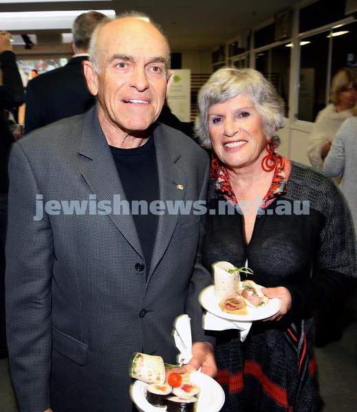 2015 Maccabi NSW Annual Jewish Sports Awards. Michael & Anne Besser.