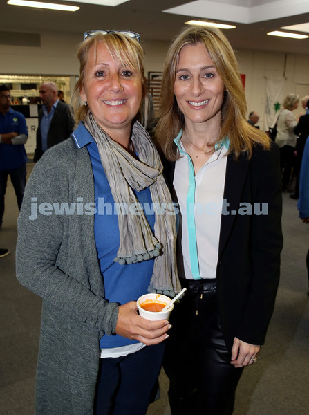 2015 Maccabi NSW Annual Jewish Sports Awards. Lauren Ehrlich & Danielle Curtis.