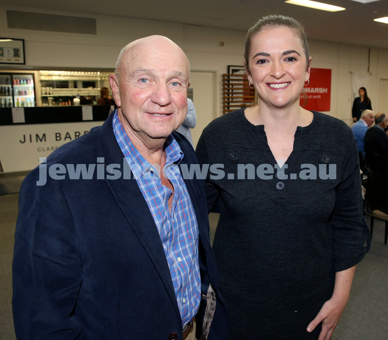 2015 Maccabi NSW Annual Jewish Sports Awards. Tom York & Marissa Ely.