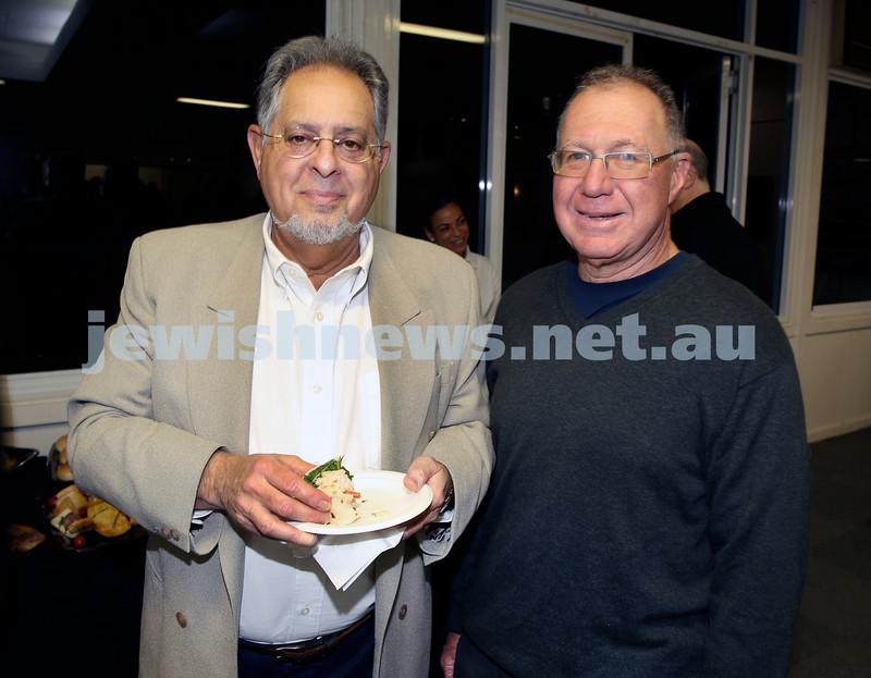 2015 Maccabi NSW Annual Jewish Sports Awards. George Farkas & Marty Knespal.
