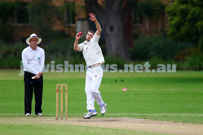 13-3-16. Maccabi Second XI grand final v Melbourne Strikers at Fawkner Park. Photo: Peter Haskin