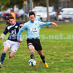 30-8-15. Maccabi soccer 3rds. Final game drew with  Bayside Argonauts 1-1. Photo: Peter Haskin