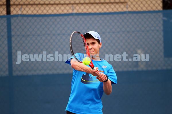 Maccabi Tennis. February 2015.