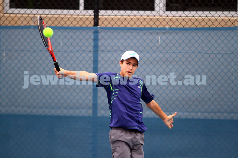 28-2-15. Maccabi tennis. Photo: Peter Haskin