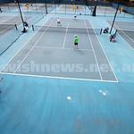 29-8-15. Maccabi Tennis. Semi final played at the Leon Haskin