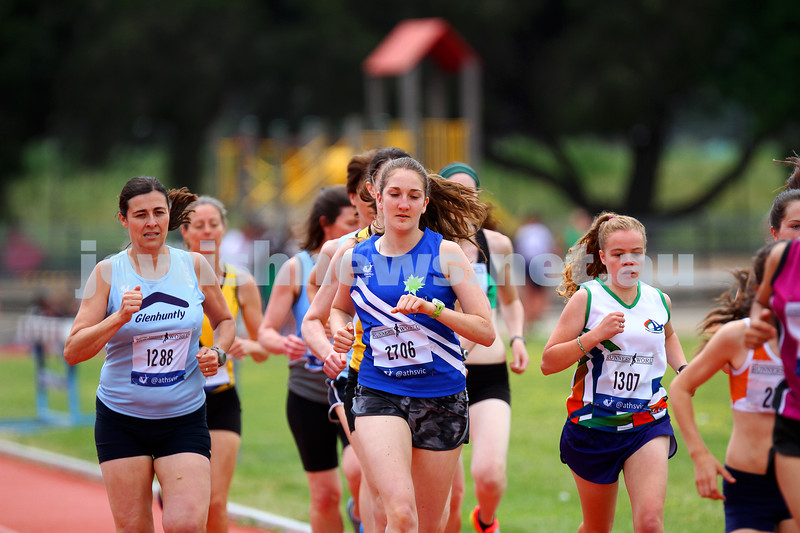 25-10-14. Maccabi Athletics. Athletics Victoria Shield, Knox. Sarah Rushford.  Photo: Peter Haskin