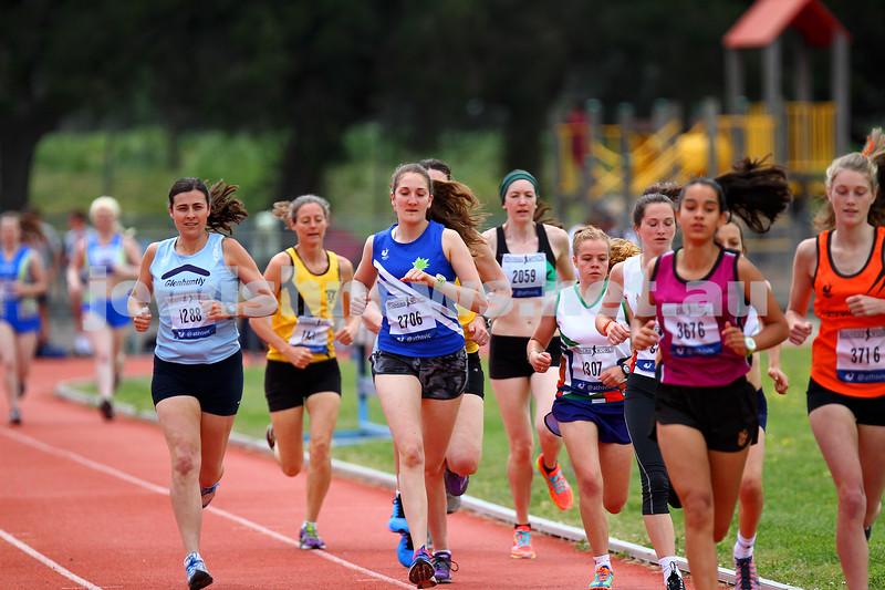 25-10-14. Maccabi Athletics. Athletics Victoria Shield, Knox. Sarah Rushford.  Photo: Peter Haskin