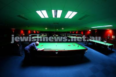 Maccabi Victoria Snooker Club. June 2015.