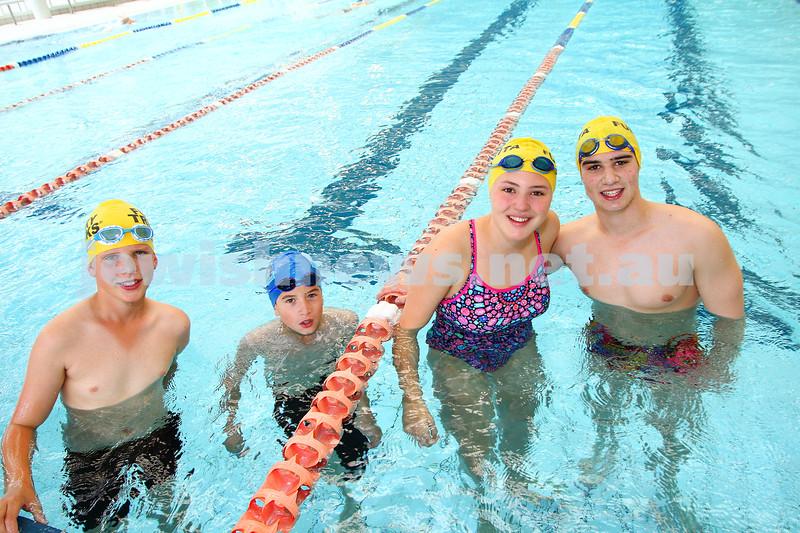 29-11-15. Maccabi Victoria swimathon at Bialik College. Photo: Peter Haskin