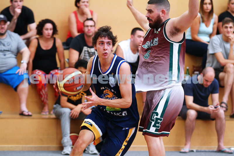 22-3-15. Maccabi Warriors v Craigieburn Eagles at Bialik College.  Ben Polonsky. Photo: Peter Haskin