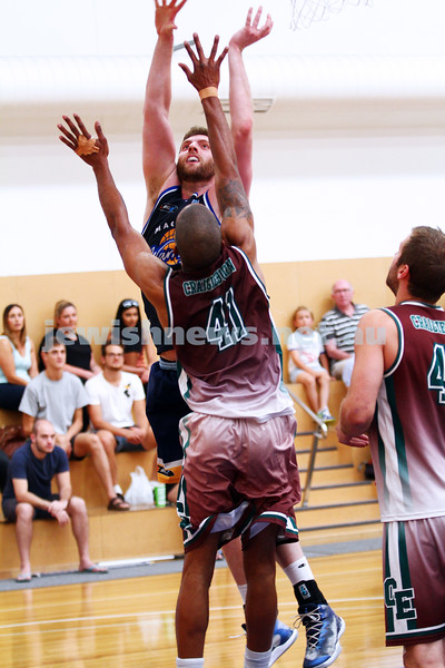22-3-15. Maccabi Warriors v Craigieburn Eagles at Bialik College.  Jared Mintz. Photo: Peter Haskin