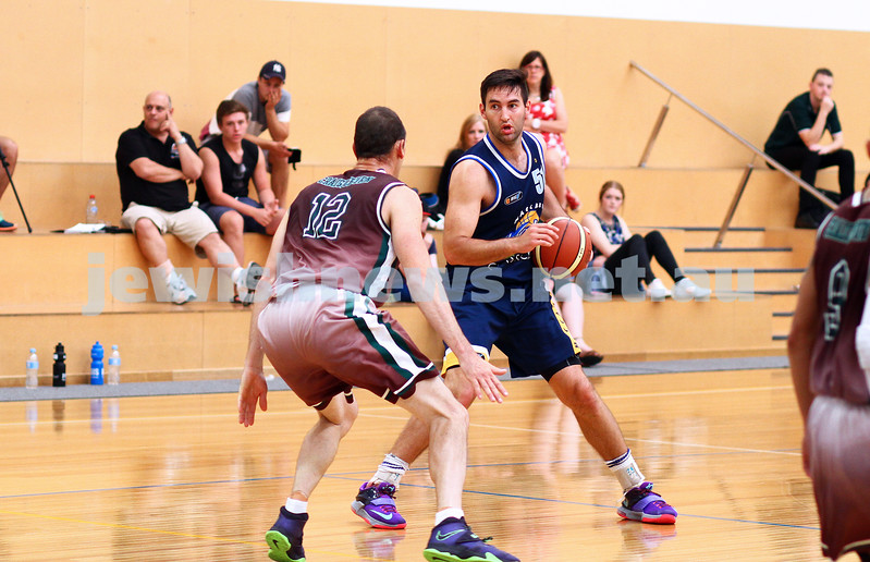 22-3-15. Maccabi Warriors v Craigieburn Eagles at Bialik College.  Josh Burns. Photo: Peter Haskin