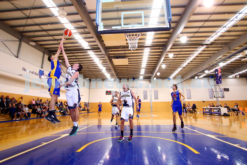 22-5-16. Maccabi Warriors lost to Pakenham Warriors 71 - 82 at Bialik Stadium.  Benji Tamir. Photo: Peter Haskin